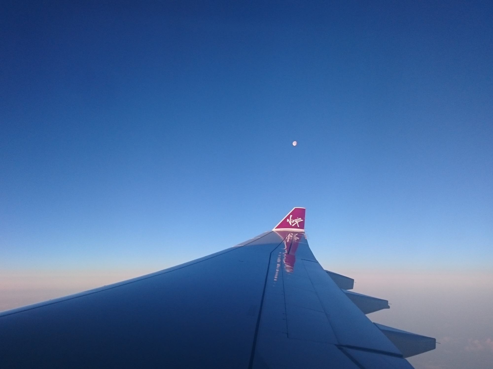 Virgin Atlantic wing